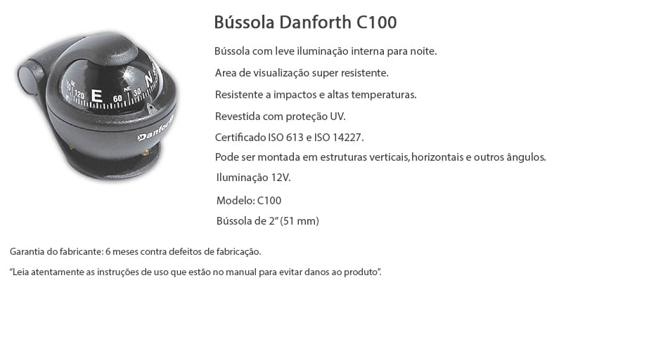 bussola-danforth-c100