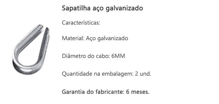 sapatilha-aco-galvanizado-6mm-2und