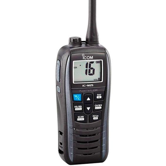 Rádio VHF Portátil Icom IC-M25-RD0000056-01