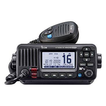 RADIO-VHF-ICOM-IC-M424G-GPS-PRETO-FIXO