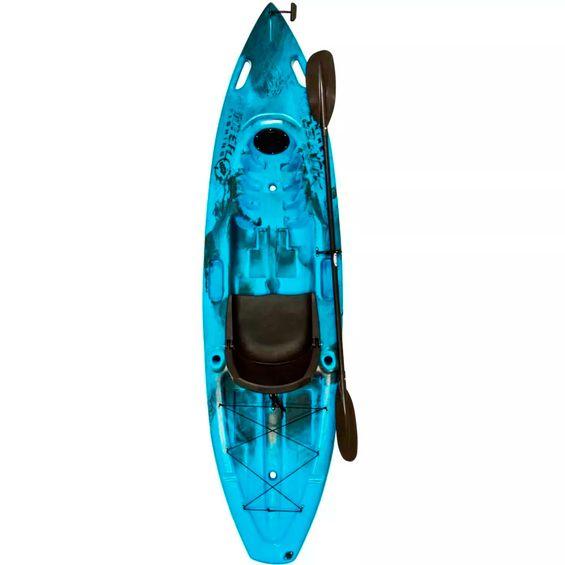 Caiaque-HUNTER-FISHING-UP-Brudden-Completo-Azul-|-Preto