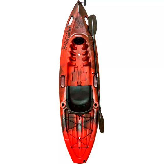 Caiaque-HUNTER-FISHING-UP-Brudden-Completo-Vermelho-|-Preto