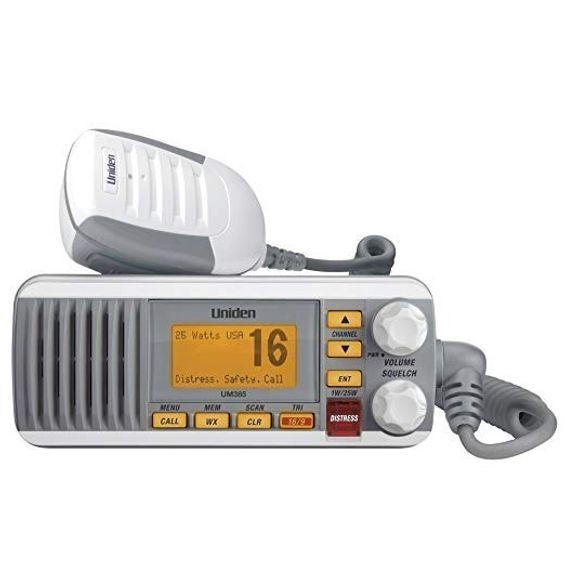 Radio-Vhf-Uniden-Solara-D-Um385--Mod-Fixo---Branco