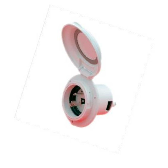 Tomada S. Power Macho 30Amp 125V 304El-B Plast-Imagem01