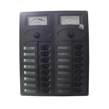 Painel-Eletr-12V-Analog-C-Amperimetro-E-Volt-Imagem01