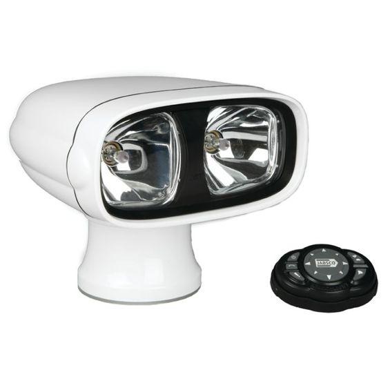 Farol-de-Busca-Jabsco-233SL-Branco-12V-Com-Controle