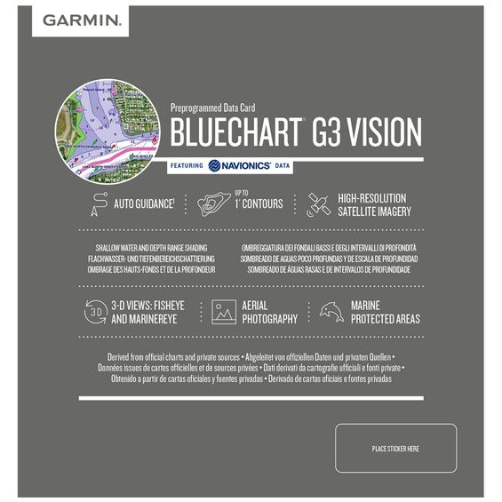 Carta-Nautica-Garmin-Bluechart-G3-Vision---Costa-Leste-Imagem01