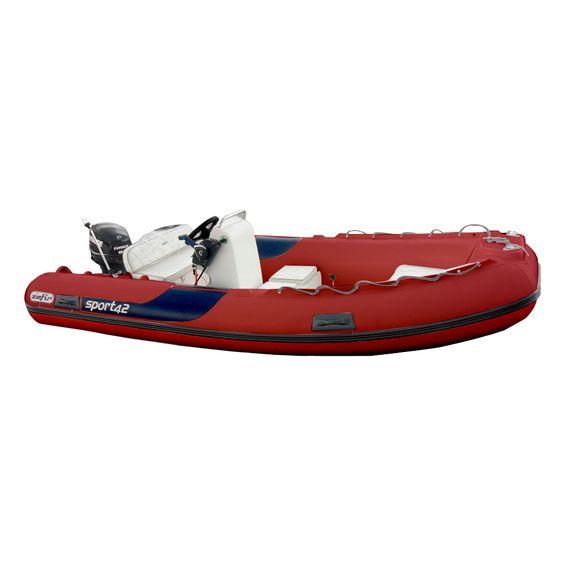 Bote-Inflavel-Zefir-4.2-Sport-Em-PVC-Vermelho-Imagem01