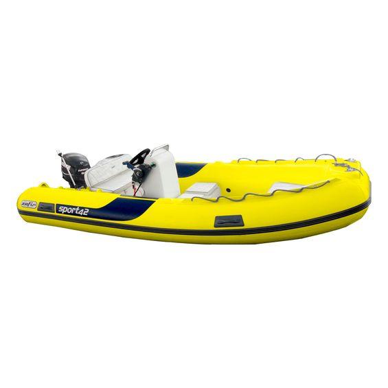 Bote-Inflavel-Zefir-4.2-Sport-Em-PVC-Amarelo-Imagem01