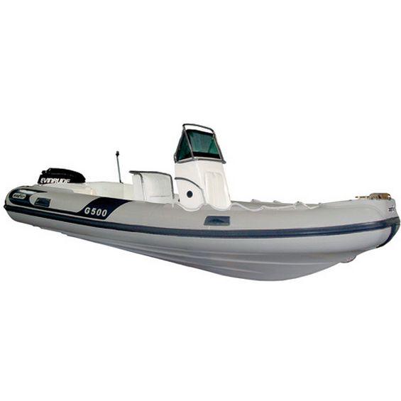 Bote-Inflavel-Zefir-G500-Geracao-II-Em-PVC-Cinza-Claro-Imagem01