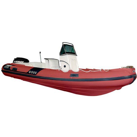 Bote-Inflavel-Zefir-G500-Geracao-II-Em-PVC-Vermelho-Imagem01