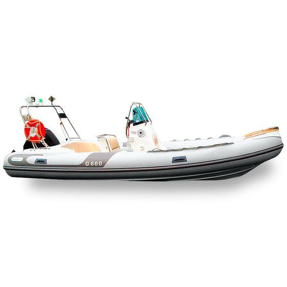 Bote-Inflavel-Zefir-G660-Geracao-I-Em-PVC-Cinza-Claro-Imagem01