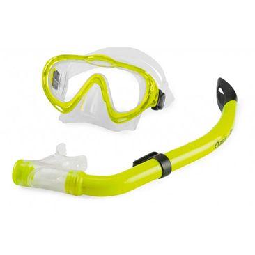 Mascara-Snorkel-Mergulho-Mormaii-Oasis-Amarelo-Infantil-Imagem01