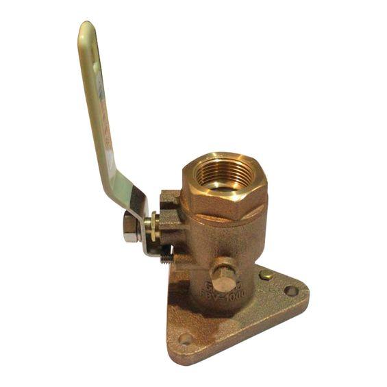 """Registro-Webasto-Para-Ar-Condicionado-Flangeado-Bronze-1""""-Imagem01"""