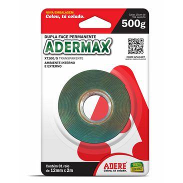 Fita-Dupla-Face-Adesiva-Adermax-XT100-Verde-De-12mm-x-2m-01