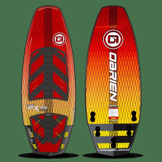 Prancha-De-Wakeboard-Obrien-M-FXV3-137-Cm-Vermelha-E-Amarela-Imagem01