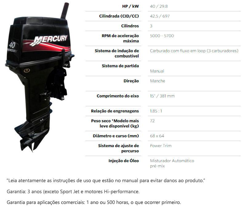 motor-mercury-40hp-super-rabeta-curta